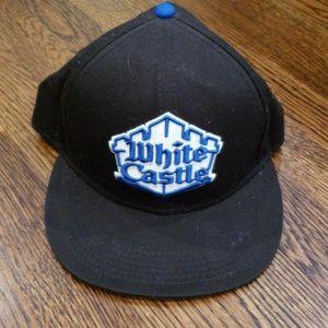 White Castle Snapback Hat